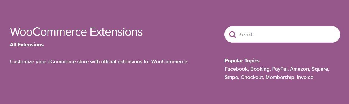woocomerce ekstenzije za webshop