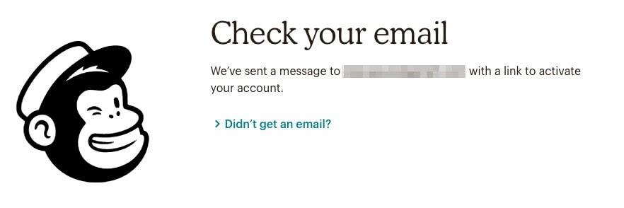 Mailchimp potvrda maila